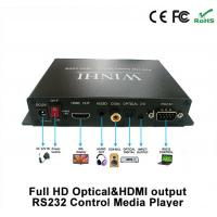 Full HD Media Player Optical / HDMI Output RS232 / 1080p USB Media Player TV Box