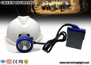 China Rechargeable LED mining light with PC material, 216lum lighting IP68 waterproof grade on sale