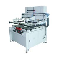 China digital flat 4 post semi automatic screen printing machine for sale on sale