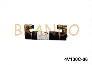 China Flow Control Pneumatic Solenoid Valve 220V AC 1/8'' For Automation Equipment supplier