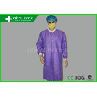 Esd Anti - Static Medical Disposable Lab Coat For Cleaning Room