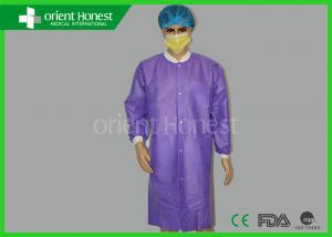 China Esd Anti - Static Medical Disposable Lab Coat For Cleaning Room on sale
