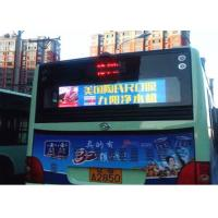 China 2 Inch Full Color P5 Car LED Sign Display Led Video Display with Aluminum Cabinet on sale