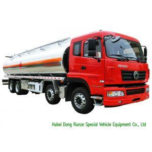China DFAC Aluminium Alloy Oil Liquid Tank Truck 28000 - 32000LLoading Capacity on sale