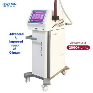 China Tattoo Removal Q Switched ND YAG Laser Machine 532nm/1064nm Wavelenth Four Treantment Tips on sale