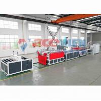 China PLC Control Thickness 40mm 200KW 4m/Min Pvc Foam Board Machine on sale