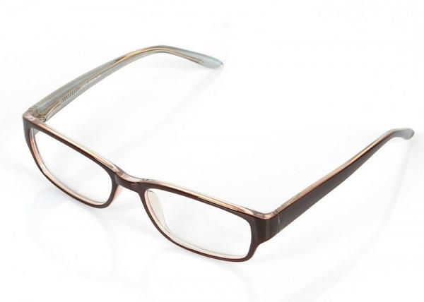 Clear Plastic Square Eyeglass Frames For Small Faces , Lightweight ...