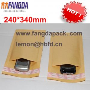 China 240'*340mm Customized kraft  paper air Bubble mailer padded envelope #F on sale