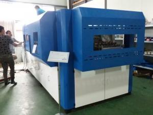 China Plastic Semi Automatic Bottle Blowing Machine , Pet Blow Moulding Machine on sale