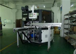 China Rotary Cylindrical Automatic Flatbed Screen Printing MachineTouch Screen Controlled on sale