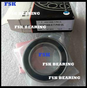 Quality HCS71906-E-T-P4S-UL High Speed Angular Contact Bearings , Ceramic Bearings Low for sale