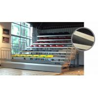 Auditoriums Telescopic Gym Bleachers , Retractable Stadium Seating For Gymnasiums