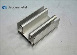 China EN-755 Standard Aluminium Window Profiles Mill Finish Aluminium Extrusion Profile on sale