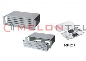 China 48 96 Pore FC Rack Mount Patch Panel Fiber Optic , Fiber Optic ODF With Splicing Tray on sale