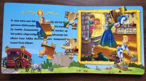 China Coated Paper Children'S Puzzle Books For English Learning ISO FSC SGS on sale