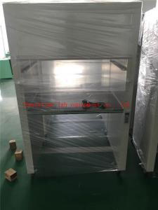 China Cold Steel / SS Horizontal Laminar Flow Cabinet HEPA Filter Low Noise on sale