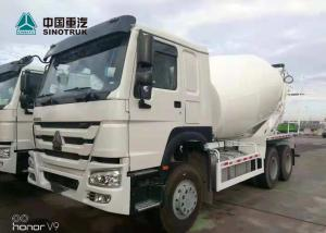 China SINOTRUK HOWO 371hp Stock Concrete Mixer Truck 10 Wheels ZZ1257N3847A on sale