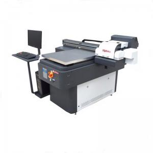 China Popular double head automatic digital 3d embossed cd dvd pvc 6090 flat bed a1 uv printer on sale