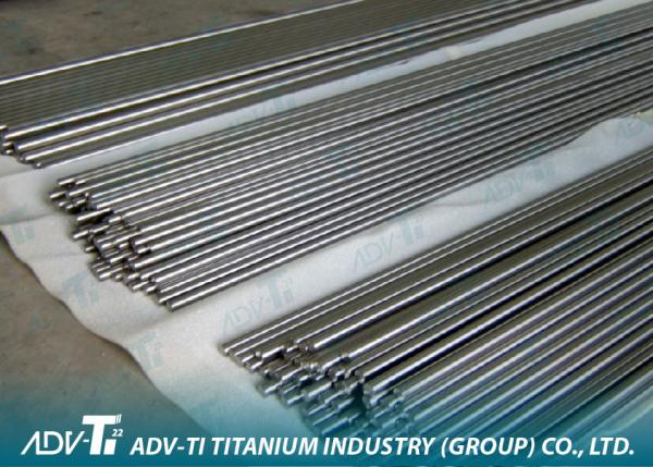 ASTM / ASME Titanium Rod Bar , 3mm - 6mm Titanium Alloy Thin Metal