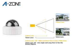 China Digital  PTZ Speed Dome Camera 10X / Mini High Speed Dome Camera Outdoor on sale