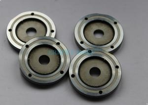China Auto Precision Plastic Mold Components Silver Wheel Gear With Steel Material on sale