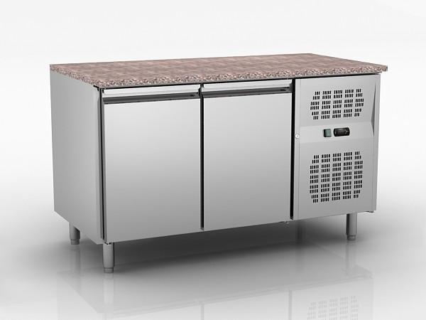 260 Liter Double Door Undercounter Freezer GN2100BT , Under Worktop Fridge  Freezer Images