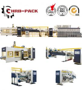 China 2018 hot sale HRB PACK Flexo Printer slotter Rotary Die Cutter Folder Gluer  Machine for Corrugated Carton Box on sale