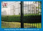 ヨーロッパ様式ワイヤー網の塀/ビニールはハイウェーのための金網に塗りました