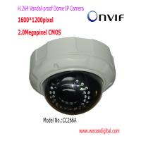 H.264 2Megapixel IR POE Vandal-proof Dome Network Camera