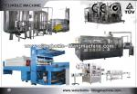 3 industriales en 1 equipo embotellador del refresco vertical de la máquina de rellenar de Monoblock