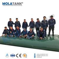 Molatank soft flexible self-inflating emergency water bladder storage tank for water storage, firefighting