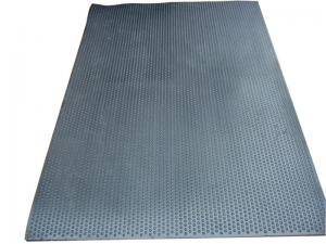 China Commercial Soft Black Insulation Rubber Stall Mats , Dairy Cow Cubicle Mats on sale