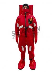 China Marine Survial Suit Neoprene Insulated Immersion Suit Water - Proof Dry Suit on sale