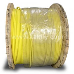 China Customized 96 core fiber optic distribution cable single mode g652d yellow on sale