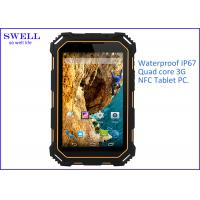IP68 HD LCD Screen rugged Outdoor Tablet PC NFC Single SIM card 13.0MP