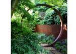 Garden Decoration Metal Steel Sculpture Corten Steel Round Sculpture