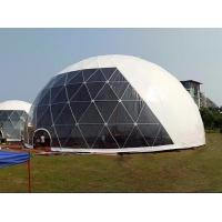China 18M Waterproof Anti - UV Geodesic Dome Tent With Steel Pipes For Event Party on sale
