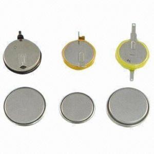 China 3.6V Lithium Ion Rechargeable Button Battery, LIR1620, LIR2016, LIR2025, LIR2032, KIR2430, LIR2450 on sale