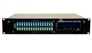 China 16ports EDFA High Power Optical Fiber Amplifier with WDM on sale