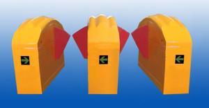 China Intelligent Flap Gate Barrier For Children Anti Pinch Infrared Sensor on sale