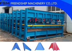 China Hydraulic Plate Bending Roll Forming Machine for Factory / Warehouse / Garage on sale