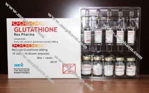China Hot sale 600mg Glutathione injection for skin whitening with high qulity and low price wholesale