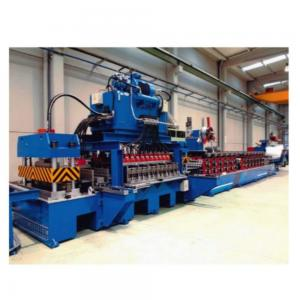 China Spiral Galvanized Grain Silo Tank 200kw Custom Roll Forming Machine on sale