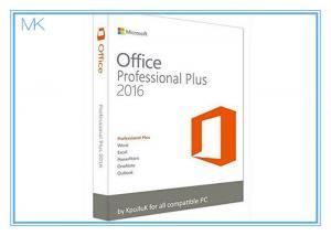 China Original Key Microsoft Office 2016 Professional Plus Software Retailbox With USB on sale