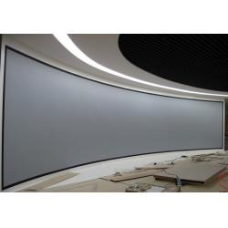china large 4k 3d cinema screens silver 3d projection screen with silver painting for sale