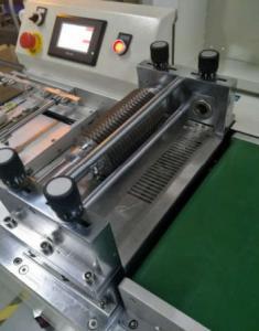 China 40x40x32cm 38kg High Efficiency LED Cutting Machine / V Groove Pcb Cutting Machine on sale