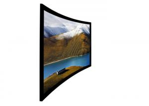 China 150'' Cinemascope screen ,  Fixed Frame Curved Projection Screen wall mounted on sale