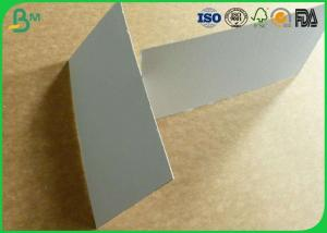 China Smoothness surface grey board 300gsm to 1500gsm for hard box package wholesale