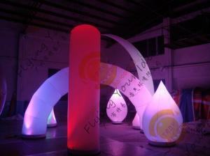 China Advertising Inflatable Arch Balloon Led Lighting For Festival Decoration on sale