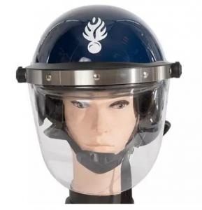 China Euro Style Police anti  riot helmet for  Senegal GENDARMERIE on sale